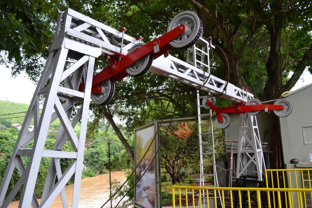 foto de Pedreira está revitalizando o Teleférico que leva ao Complexo Turístico do Morro do Cristo