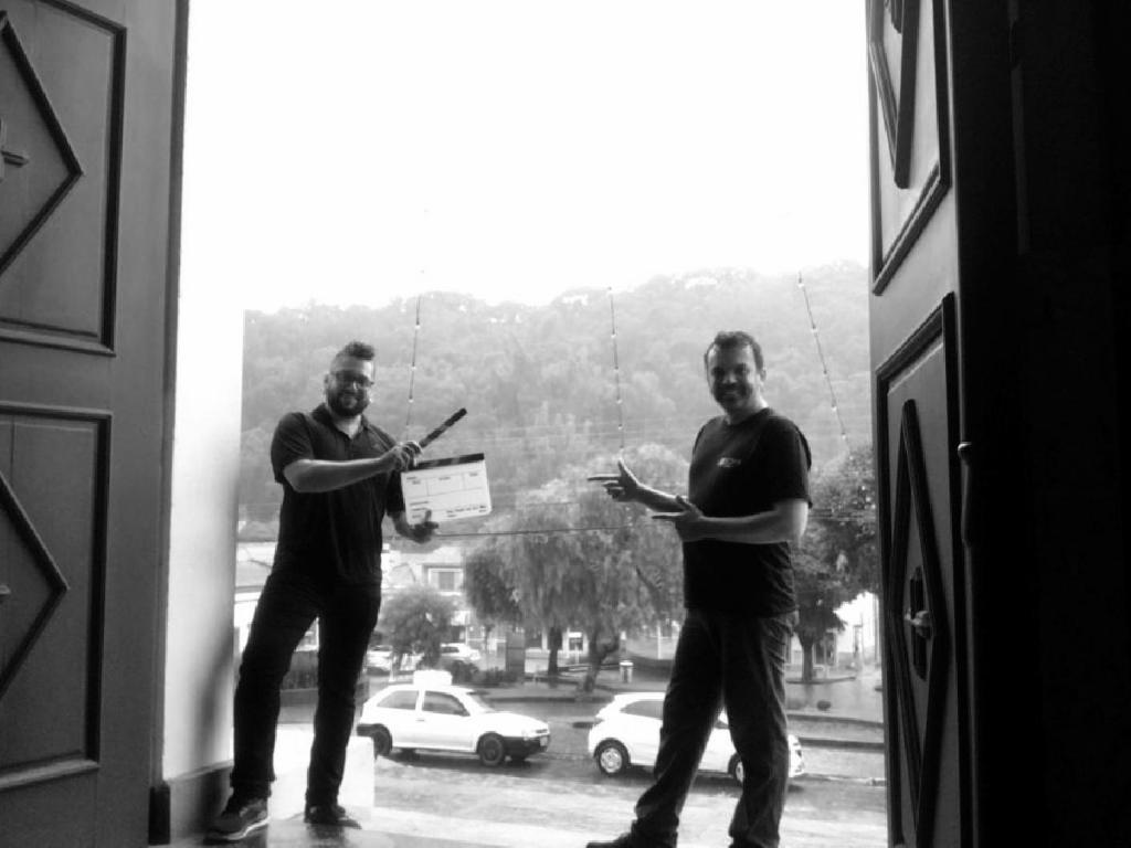 """foto de Filme """"O Lobisomen de Pedra de Fogo"""" foi gravado em Monte Alegre do Sul"""