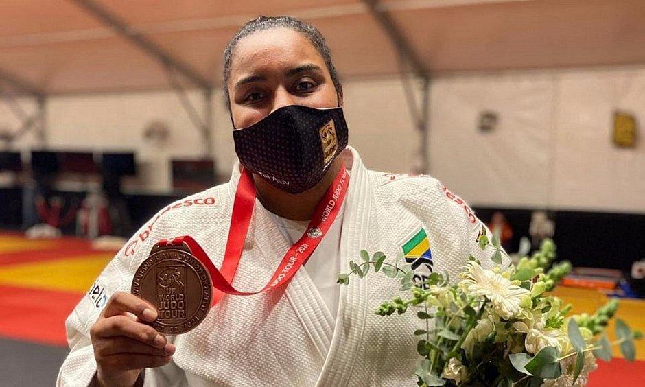 foto de Maria Suelen Altheman conquista a medalha de bronze no último dia de Grand Slam de Tel Aviv