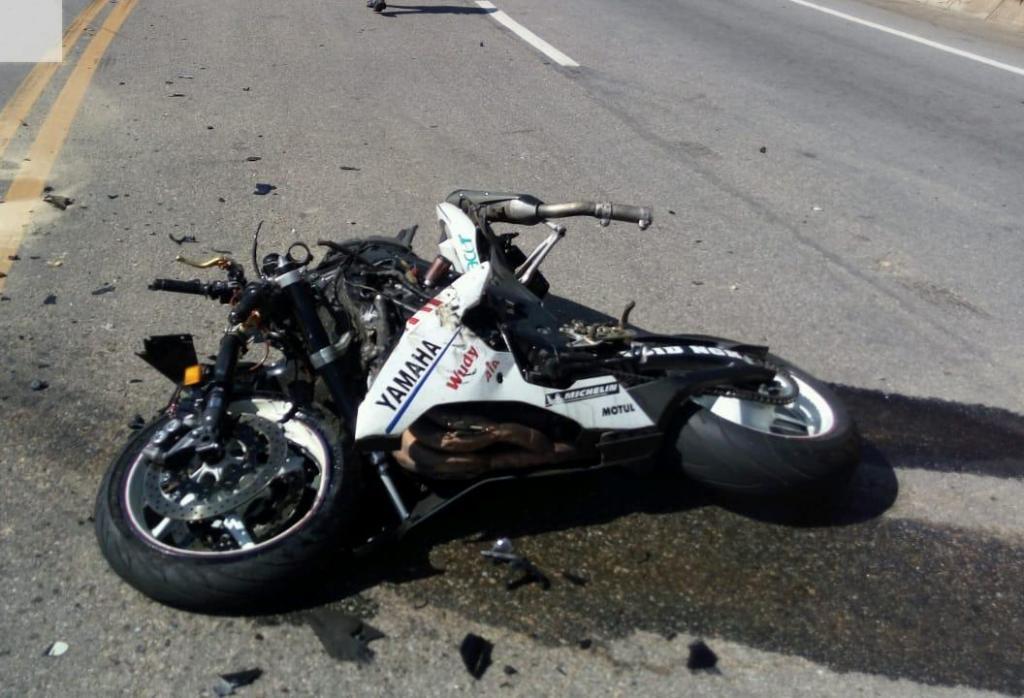 foto de Acidente na Amparo-Morungaba mata um motociclista e deixa dois em estado grave