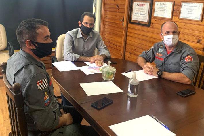 foto de Bombeiros reivindicam recursos e equipamentos para prevenir acidentes