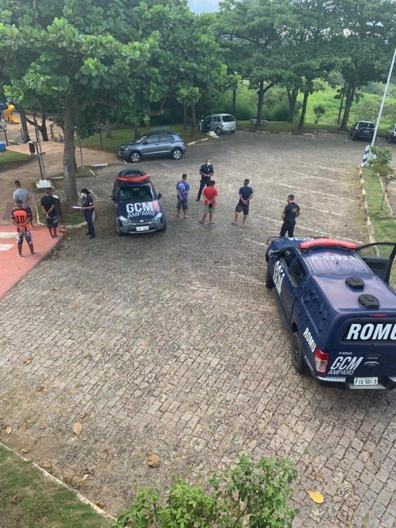 foto de GCM intensifica patrulhamento em pontos turísticos e flagra seis jovens usando drogas no Morro do Cristo