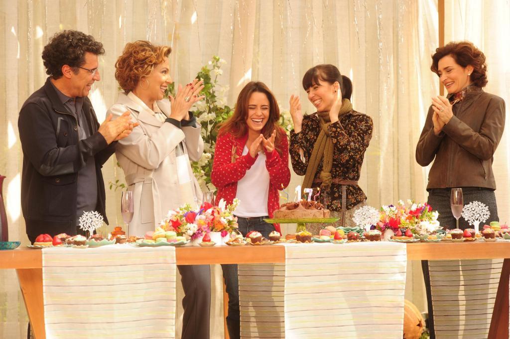"""foto de As expectativas do elenco para a reexibição de """"A Vida da Gente"""""""