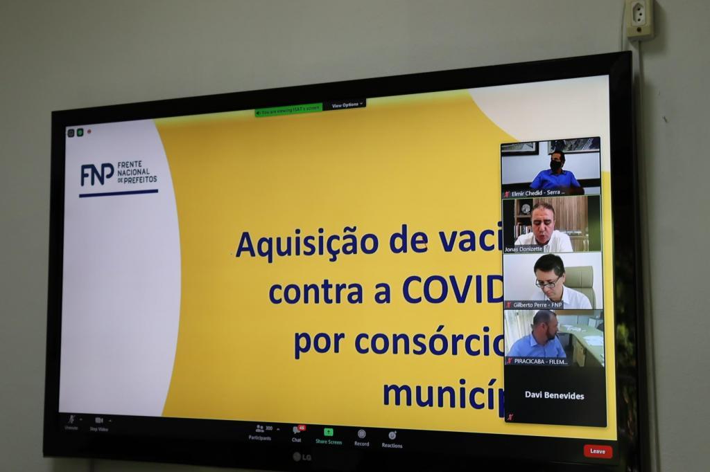 foto de Serra Negra participará de consórcio de municípios para aquisição de vacinas