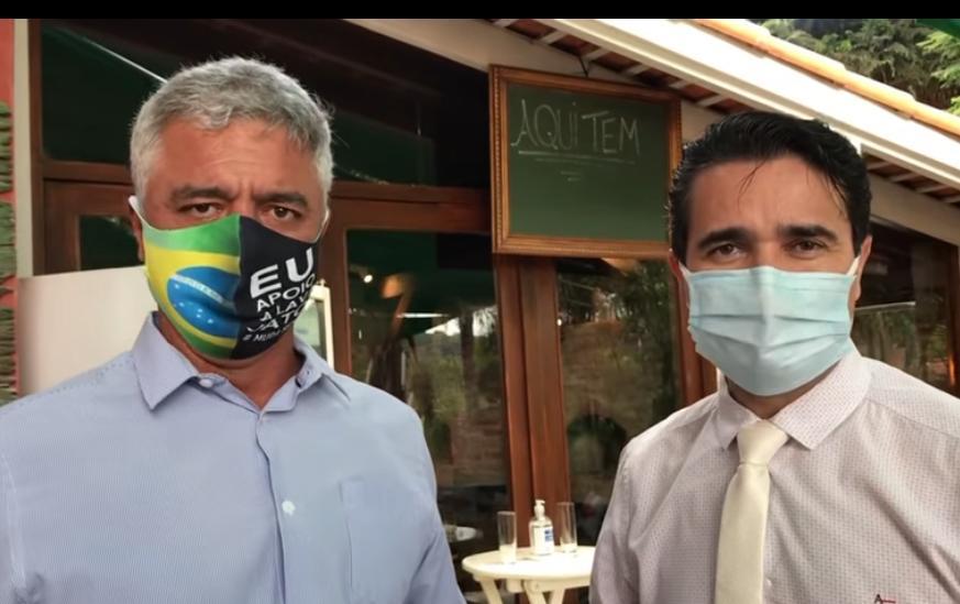 foto de Senador que esteve com Carlos Alberto na sexta-feira é diagnosticado com Covid-19