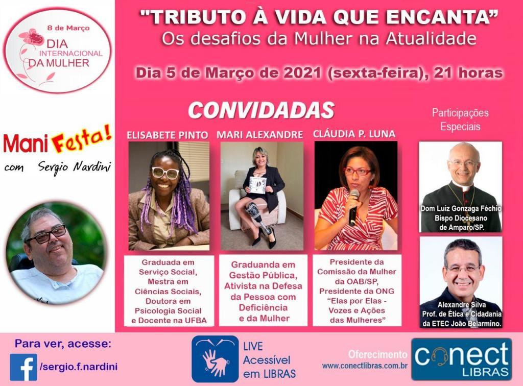 """foto de Programa """"Manifesta"""" irá marcar o Dia Internacional da Mulher em Amparo"""