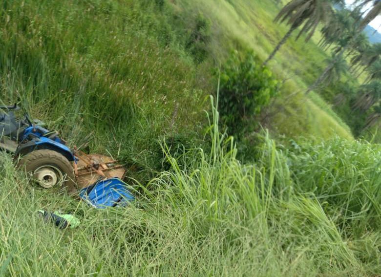 foto de Acidente nas obras da Barragem de Amparo acaba em morte