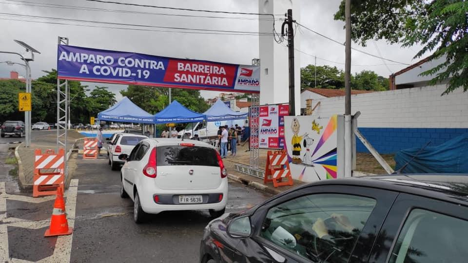 foto de Secretaria de Saúde de Amparo fez 105 testes rápidos para Covid-19 no último sábado