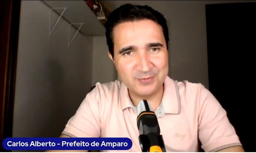 foto de Carlos Alberto divulga resultado de exames que mostram que ela não está com Covid-19