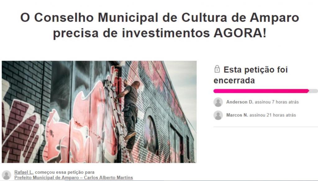 foto de Coletivo Cultura apresenta ofício para Conselho Municipal de Cultura