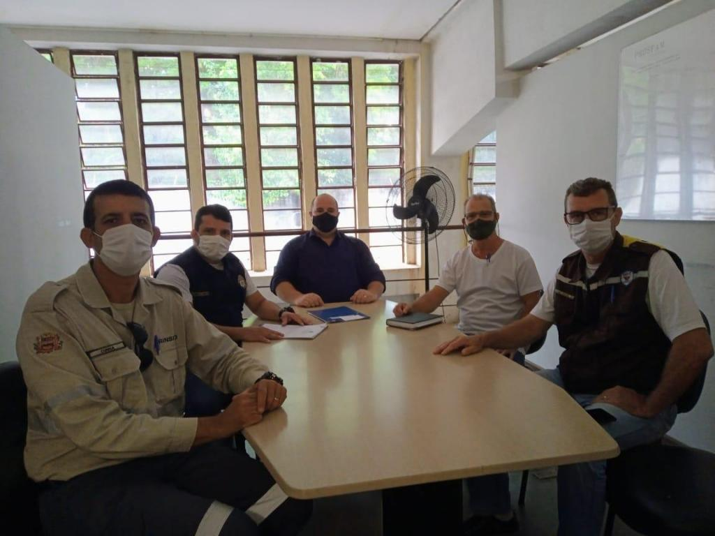 foto de Representantes de Mogi-Mirim buscam informações com o Trânsito de Amparo