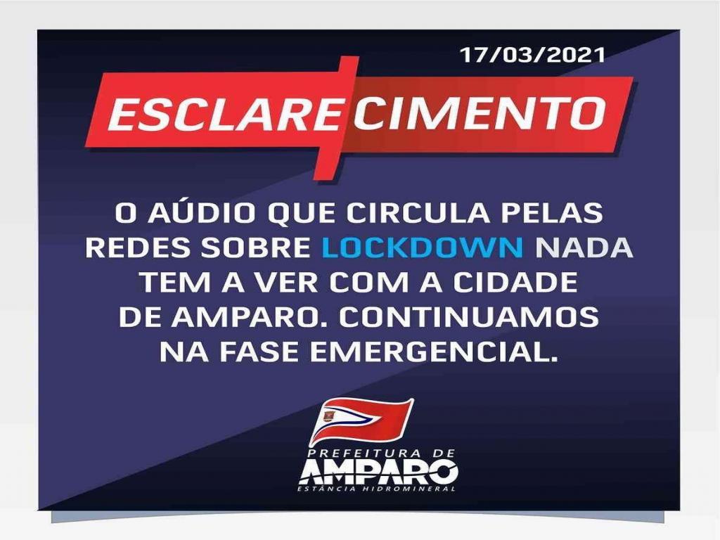 foto de Carlos Aberto desmente lockdown no final de semana anunciado pelas redes sociais