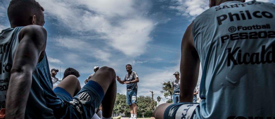 foto de Com lockdown no litoral, Santos leva treinos para interior paulista