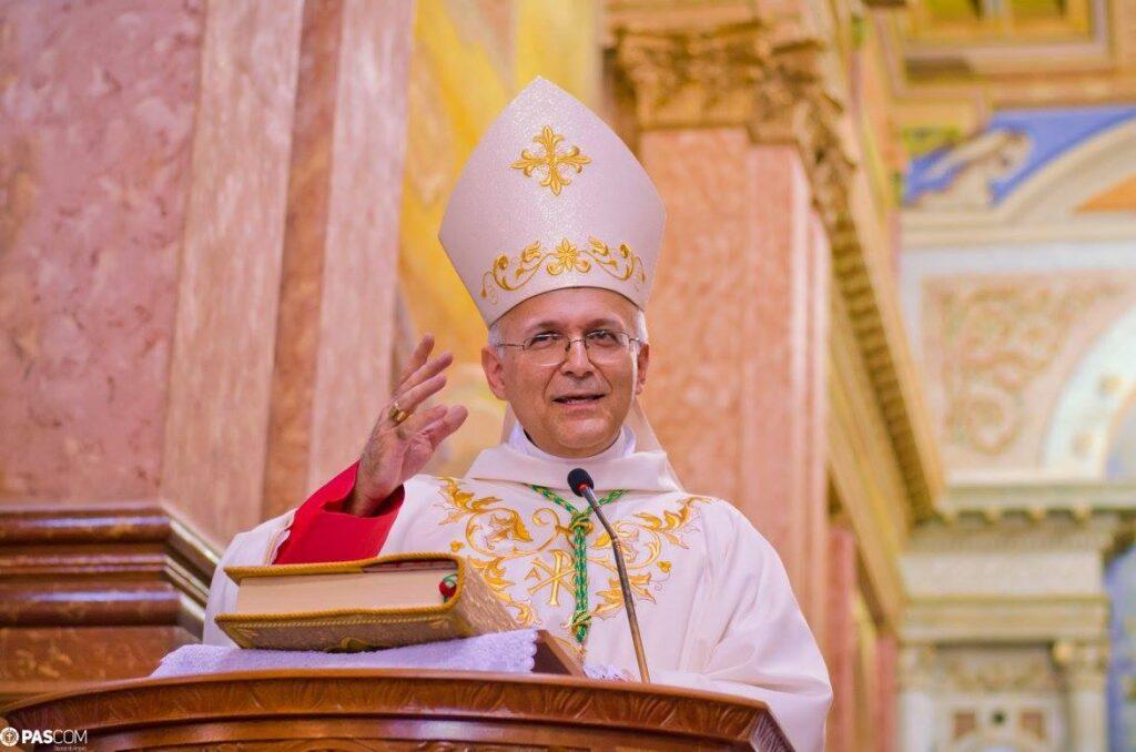 foto de Dom Luiz completa 5 anos frente a Diocese de Amparo