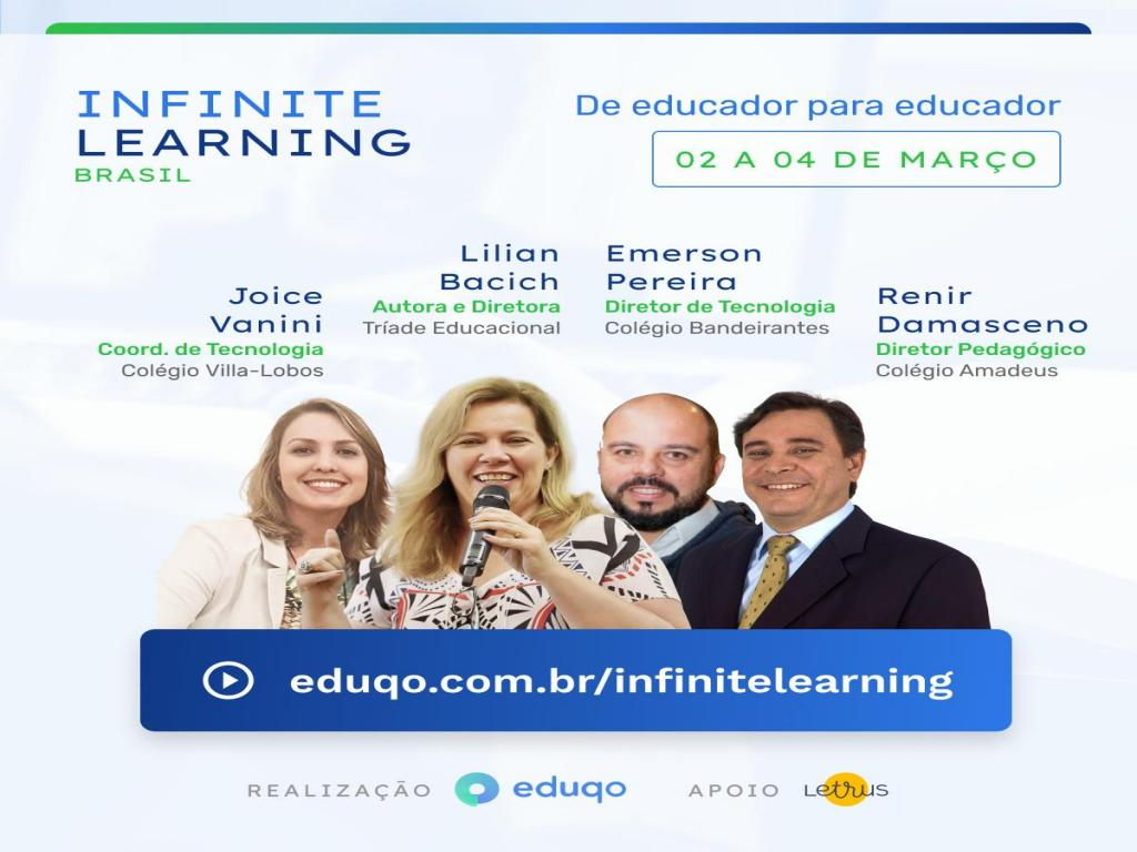 foto de Professora de Amparo participa do Infinite Learning Brasil