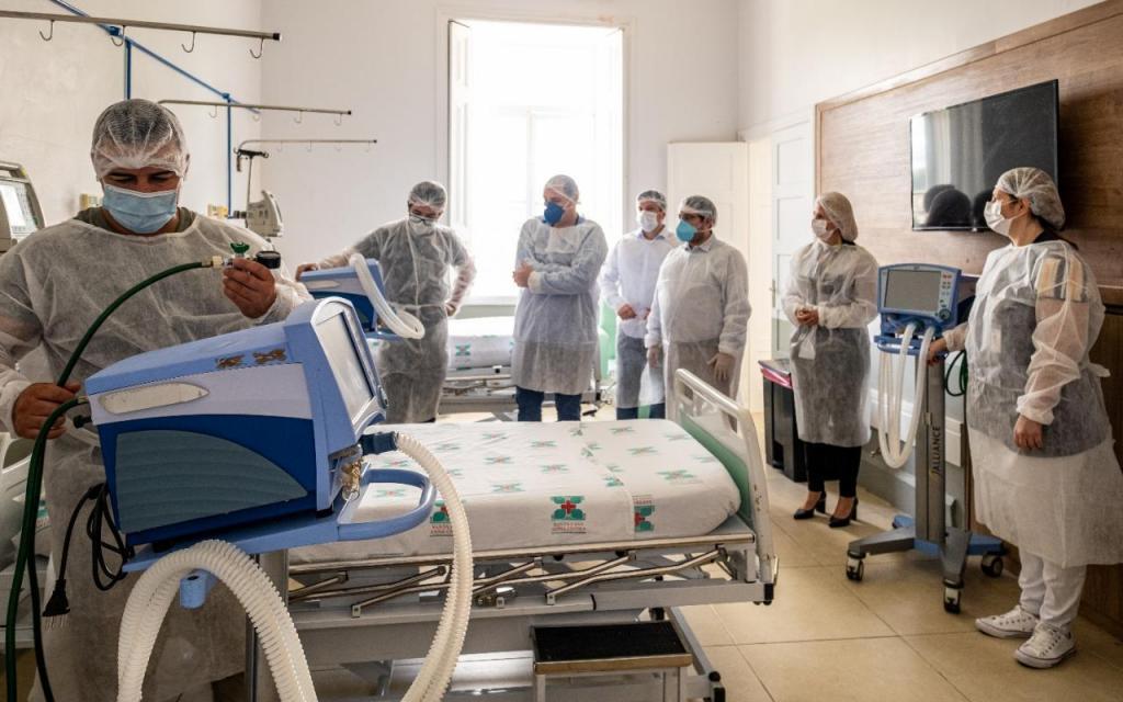 foto de Santa Casa Anna Cintra pode perder nove leitos de UTI