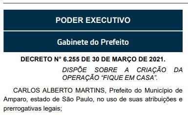 foto de Prefeitura vai multar quem descumprir período de isolamento