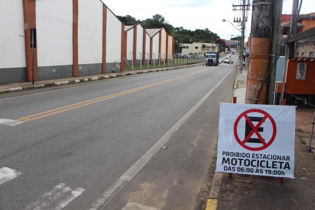 foto de Morungaba proíbe estacionamento de motos neste fim de semana