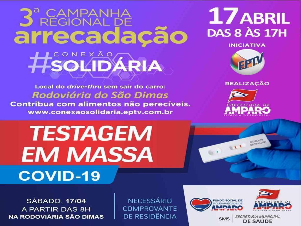 foto de EPTV realiza 3ª Campanha Conexão Solidária em Amparo