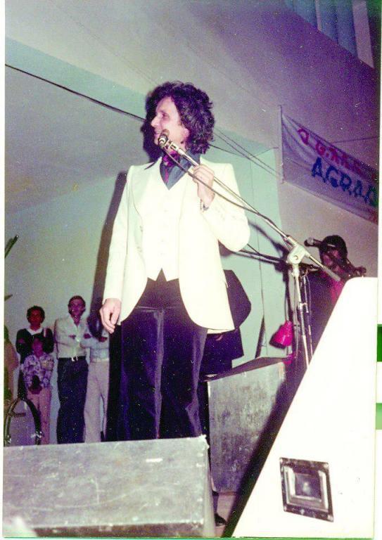 foto de Roberto Carlos já se apresentou duas vezes em Amparo