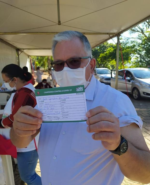 foto de Clero da Diocese de Amparo começa a ser vacinado contra a Covid-19