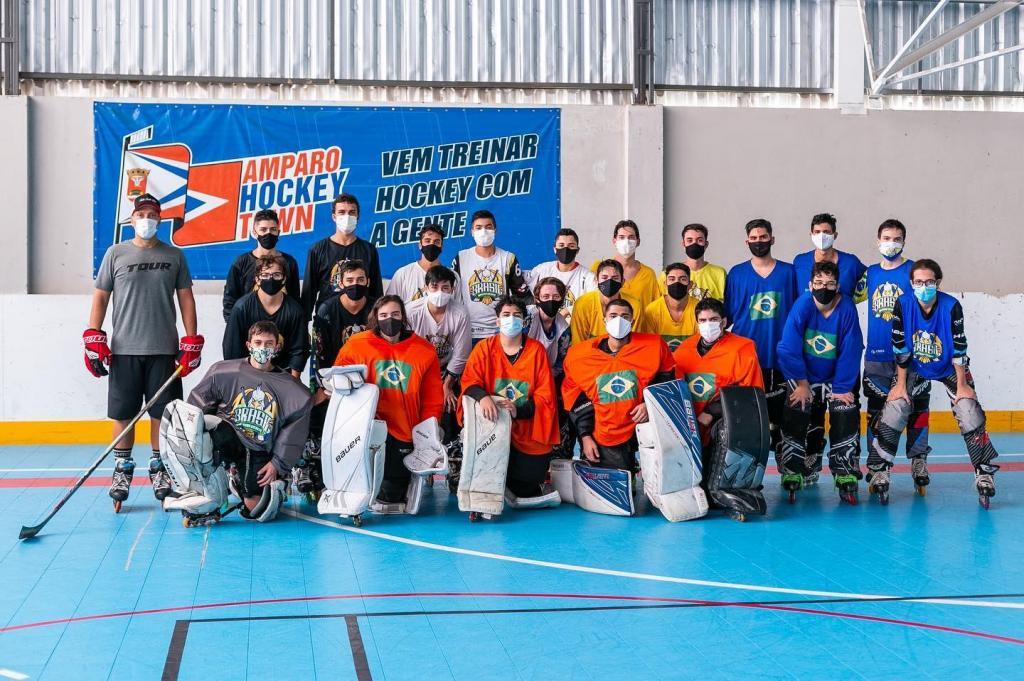 foto de Seleção Brasileira Júnior de Hockey treinou em Amparo