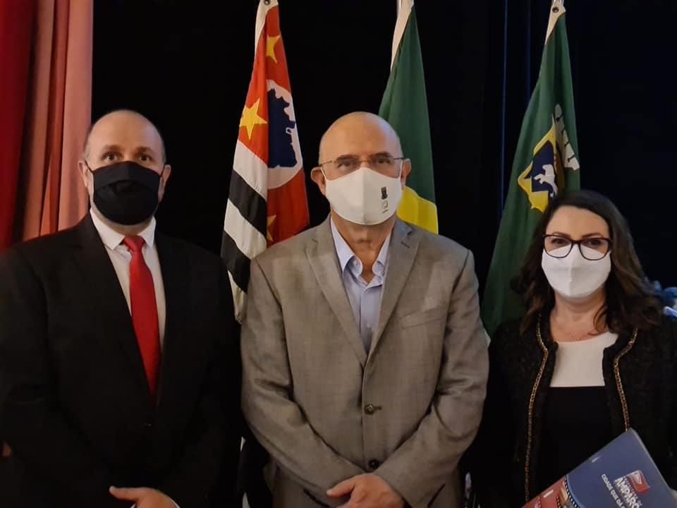 foto de Secretária de Educação e Vice-prefeito de Amparo estiveram com Ministro da Educação
