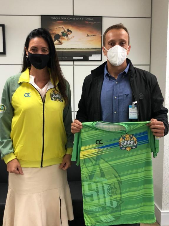 foto de Dirigente do Hockey amparense se reuniu com Secretária Nacional de Esportes em Brasília
