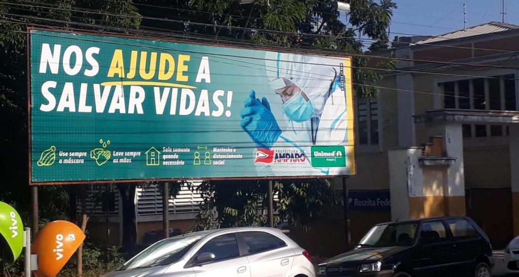 foto de Unimed Amparo lança nova campanha de conscientização sobre a pandemia