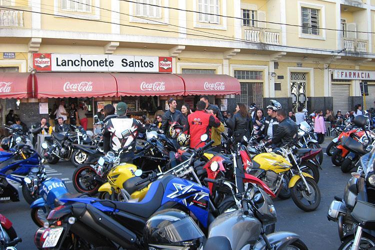 foto de Serra Negra contará com bolsões para estacionamento de motocicletas