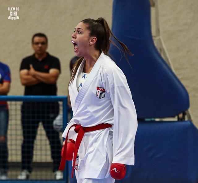 foto de Karateca amparense classificada para jogos Pan-Americanos Sub-21
