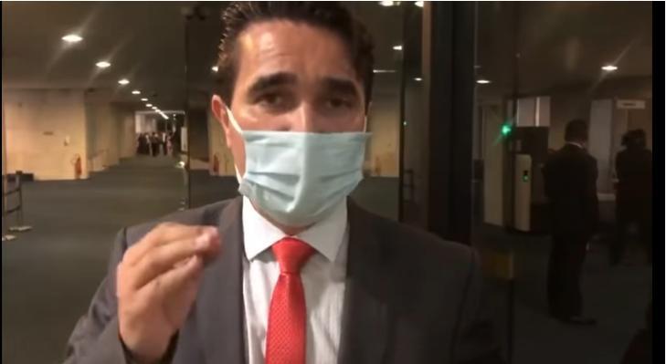 foto de Carlos Alberto pede para CPI da Covid investigar destino de R$ 18 milhões