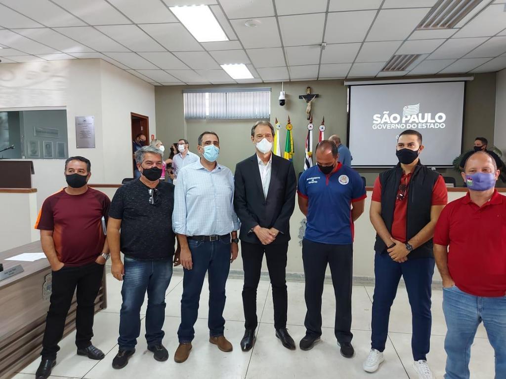 foto de Secretário de Esportes de Amparo esteve reunido com gestores Municipais e do Estado
