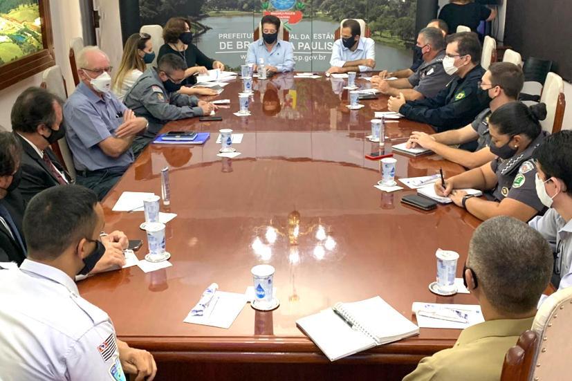 foto de Chedid defende liberação de mais R$ 1 milhão à segurança pública