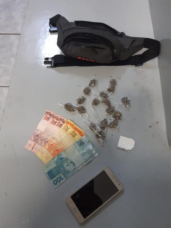 foto de Dupla flagrada com drogas foi liberada