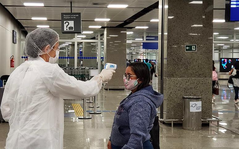 foto de São Paulo começa a triagem de passageiros vindos do Maranhão