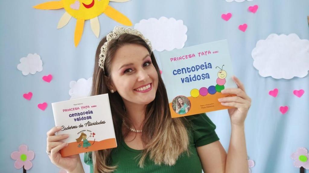 """foto de Lançamento do livro infantil """"Princesa Tata em: Centopeia Vaidosa"""" foi adiado para dia 5"""