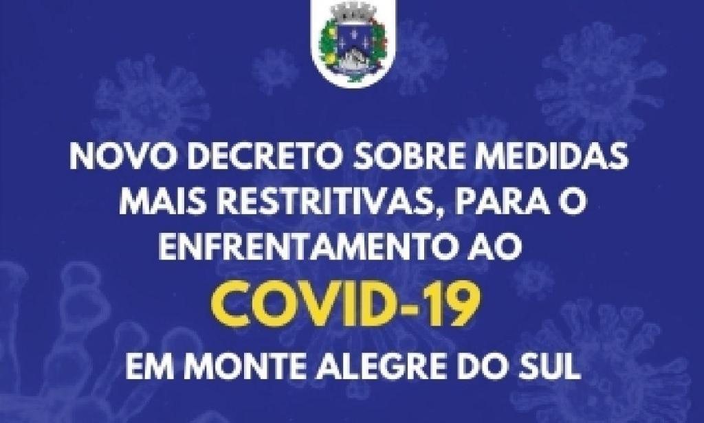foto de Prefeitura de Monte Alegre do Sul publica decreto ampliando medidas de restrição da fase vermelha