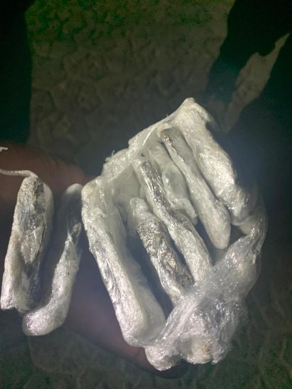 foto de Trabalhador rural foi detido com maconha