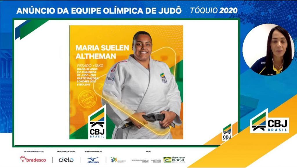 foto de Confederação Brasileira de Judô confirma nome Suelen para disputa de mais um Olimpíada