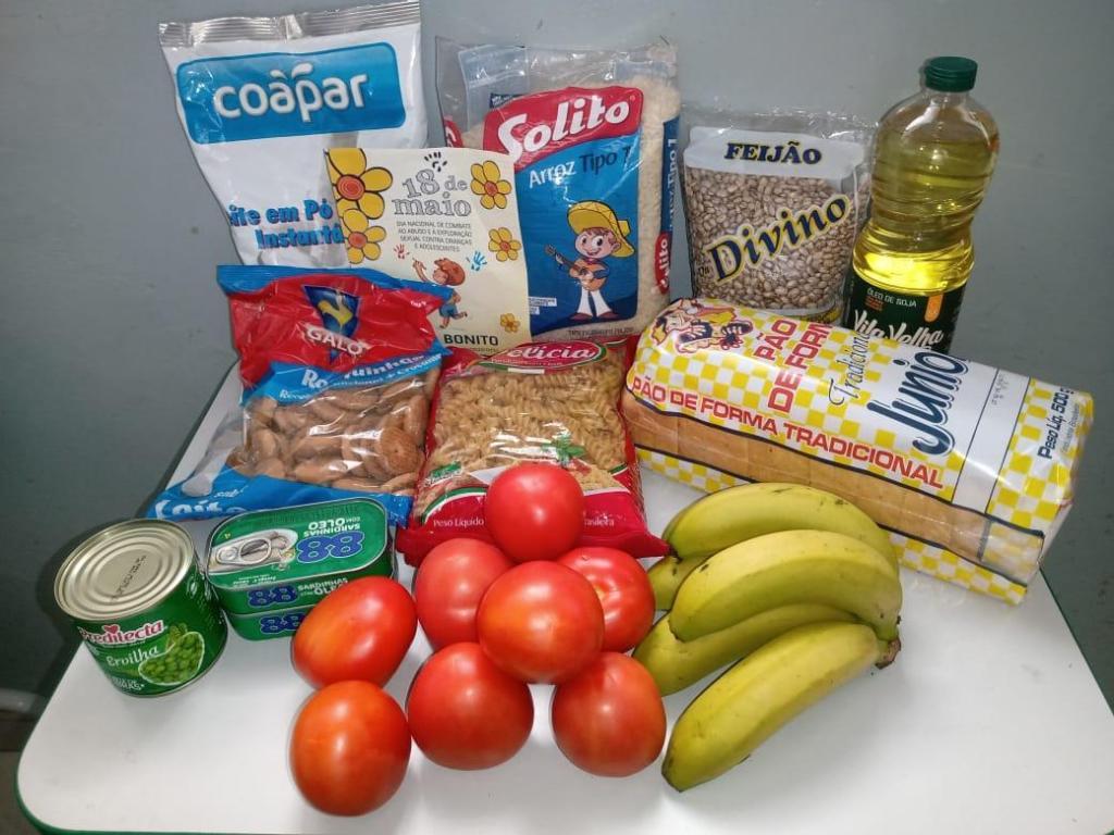 foto de Mais de 4.500 kits de alimentação serão entregues até quinta-feira em Amparo
