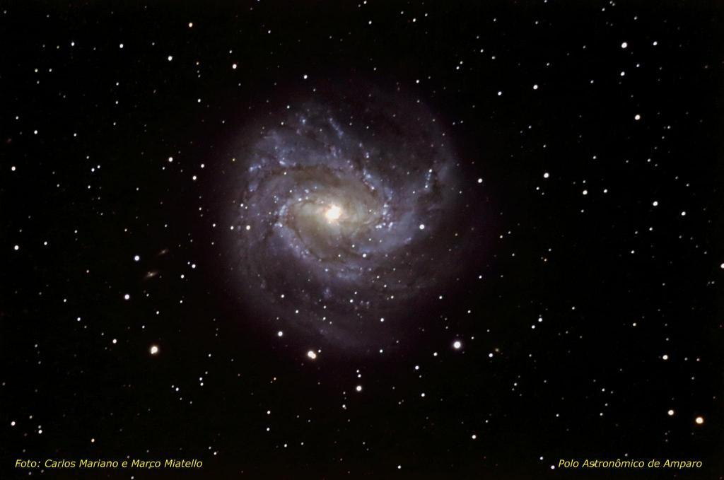 foto de Polo Astronômico de Amparo divulga fotos do espaço feitas a partir dos seus telescópios