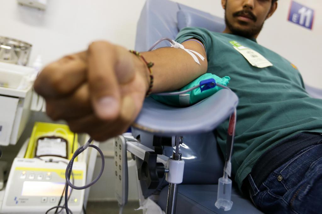 foto de Hoje tem coleta de sangue em Amparo