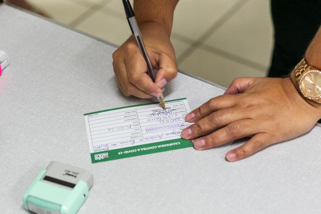 foto de Segundo dose da vacina contra a Covid-19 está disponível somente no Bolão