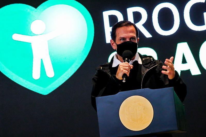 foto de Doria anuncia auxílio de R$ 300 a parentes de vítimas da Covid-19
