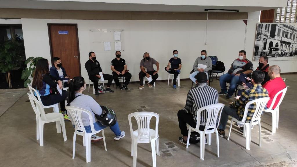 foto de Retomada das atividades esportivas é pauta de reunião na Prefeitura