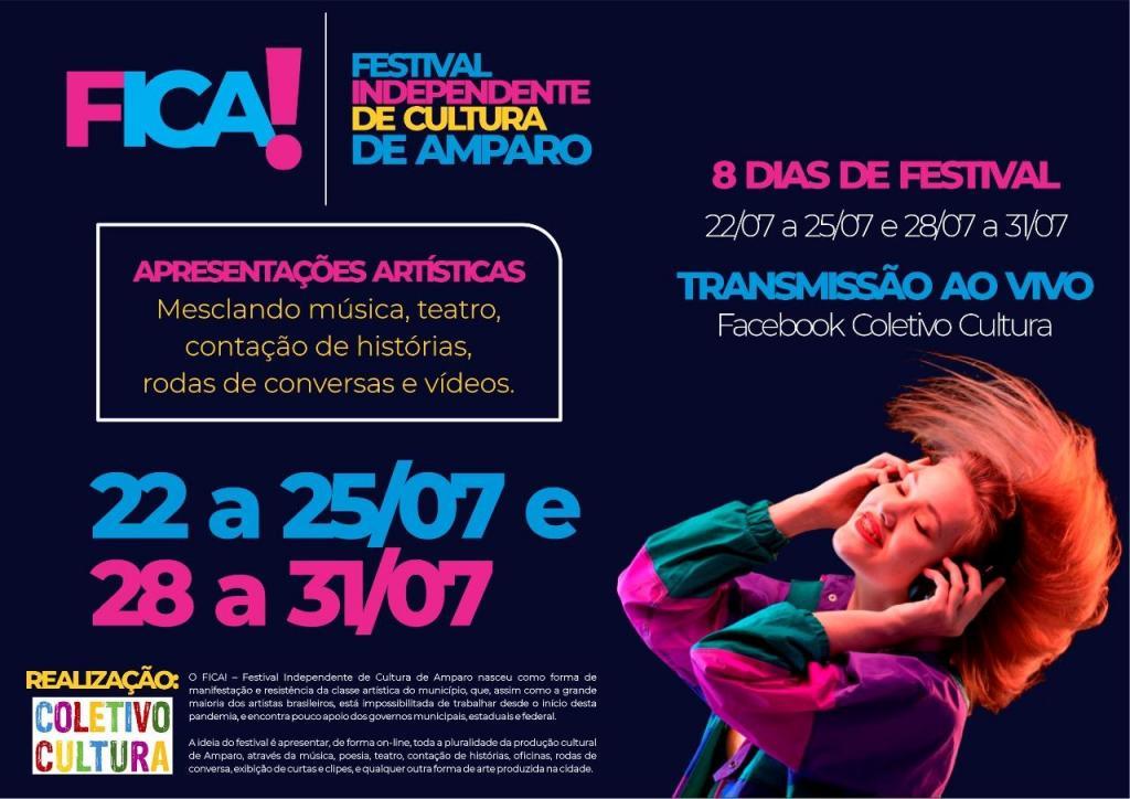 foto de Festival Independente de Cultura de Amparo anuncia programação