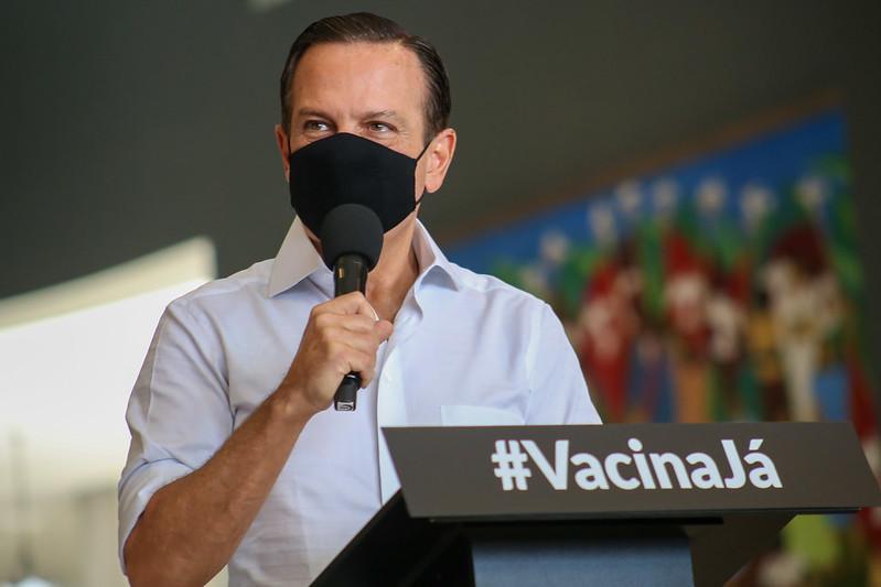 foto de Governo de SP anuncia vacinação para adolescentes de 12 a 17 anos