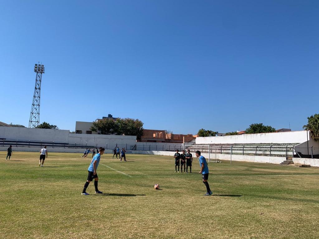 foto de Amparo Athlético Club realiza jogo-treino em preparação para o Campeonato Paulista Sub-20