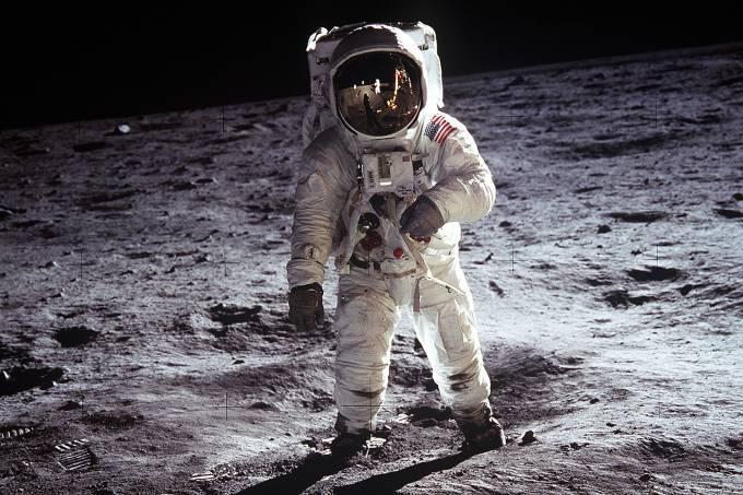 foto de Chegada do homem à Lua comemora hoje 52 anos